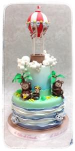 torta mongolfiera le torte di giada