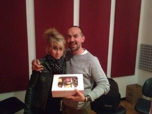 Littizzetto e Vic di RadioDj e le Cupcake dedicate al loro programma