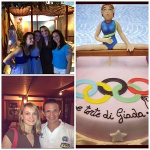 Le Ginnaste di Vite Parallele su MTV e la torta dedicata alla Olimpiadi