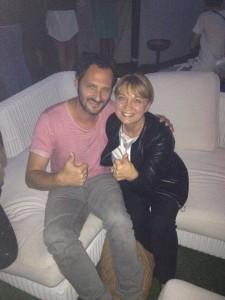 Fabio Troiano con Rosy de Le Torte di Giada