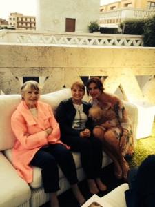Francesca Rettondini , Rosy , presentazione film Mille Miglia a Brescia