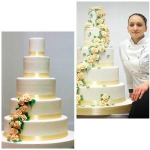 20 Settembre 2014 a Brescia presso Officcina Scuola Cucina , il corso per imparare a realizzare una torta a piani , si lavora su basi vere di Pan di Spagna e farciture , per tutte le info contattate via email a info@tortedigiada.com