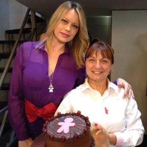 Anna Falchi e Rosy de Le Torte di Giada
