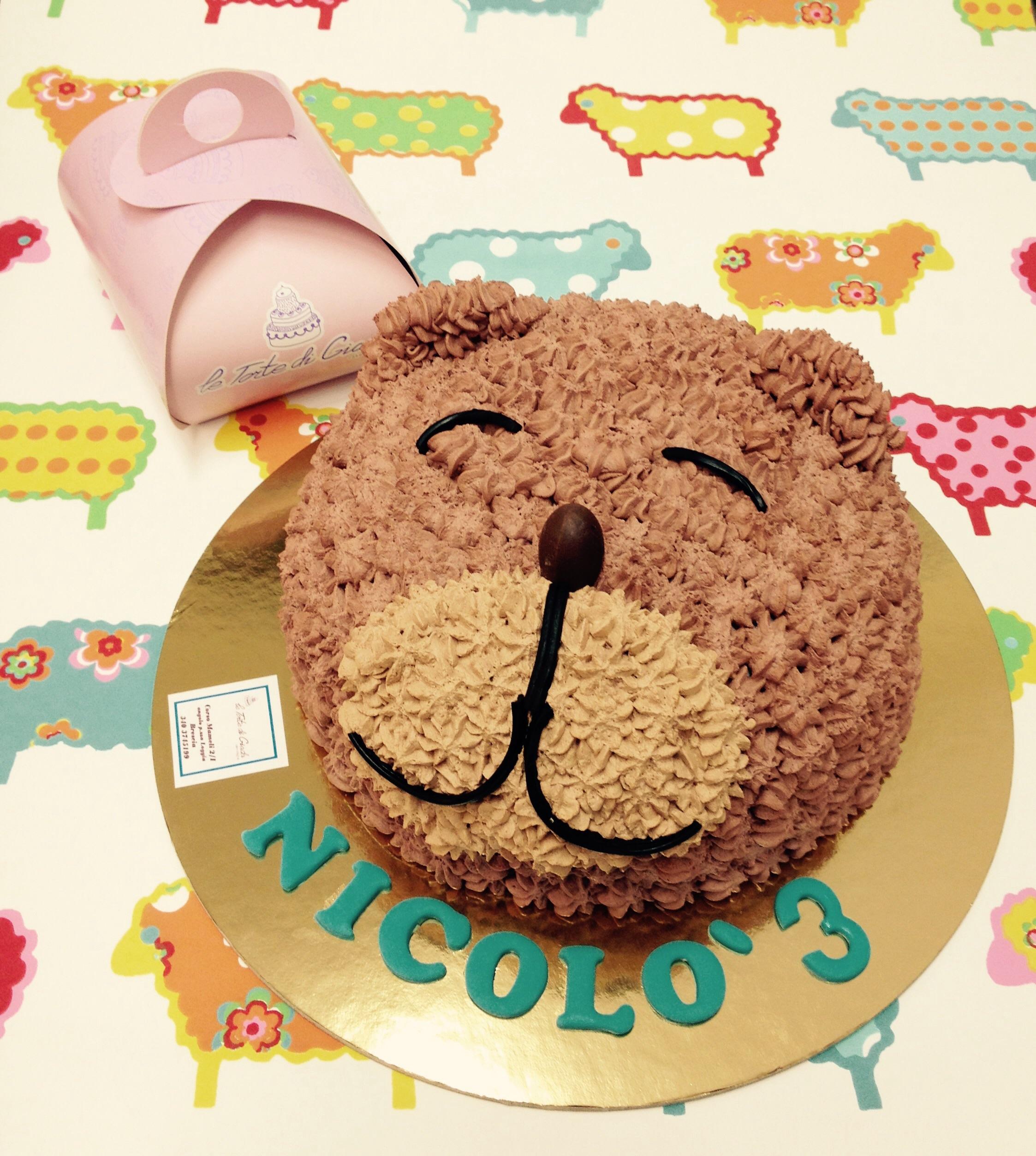 Tutorial orsetto di panna le torte di giada for Decorazioni di torte con panna montata