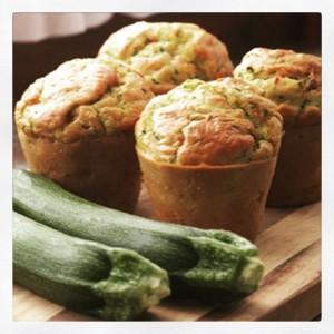 Cupcake salate con zucchine