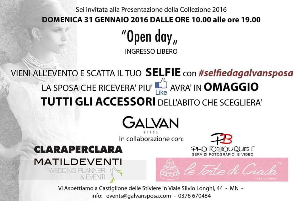 Open Day Galvan Spose