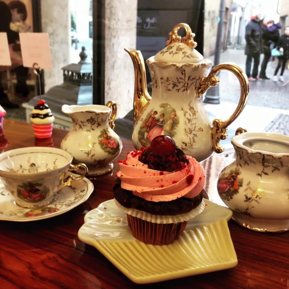 cupcake tea le torte di giada
