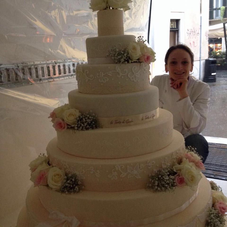 torta di nozze monumentale wedding cake le torte di Giada cake design