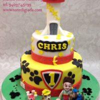 torta di compleanno chris
