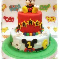 torta di compleanno topolino