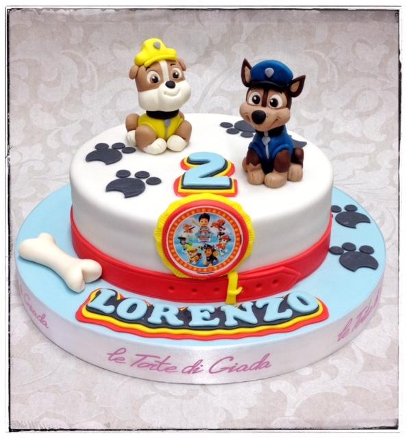torta di compleanno paw patrol   Le Torte di Giada