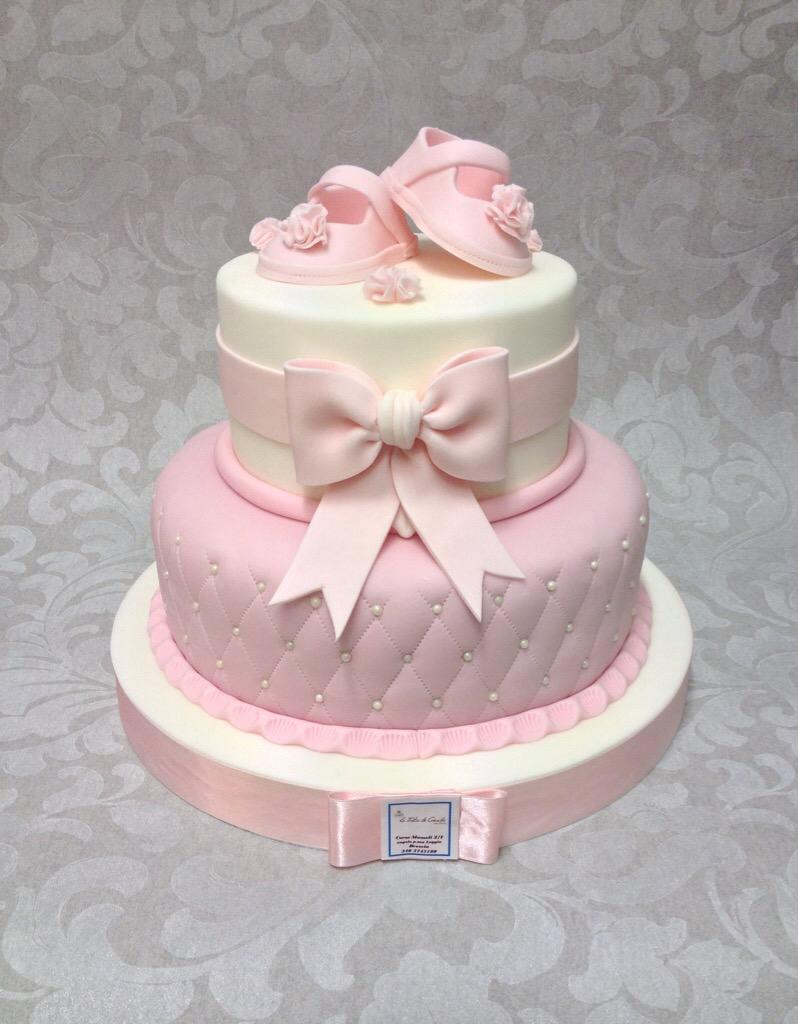 Super torta battesimo bimba - Le Torte di Giada RI34