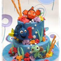 torta di compleanno nemo