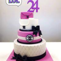 torta fashion brescia compleanno