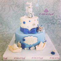 torta battesimo bambino