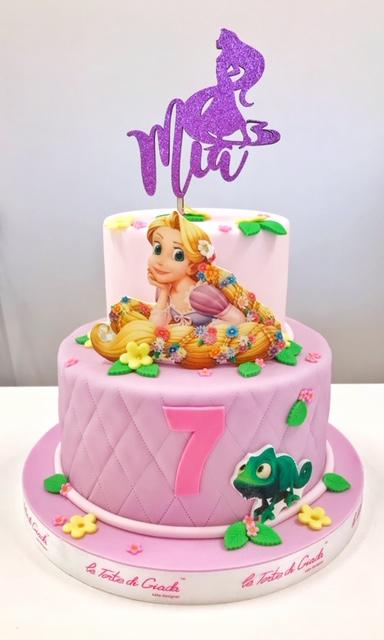 cartoni animati torta compleanno
