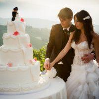 matrimonio brescia torta monumentale