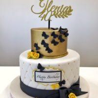 torta 40 anni cake design