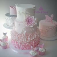 torta battesimo bambina brescia
