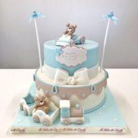 torta battesimo bambino brescia
