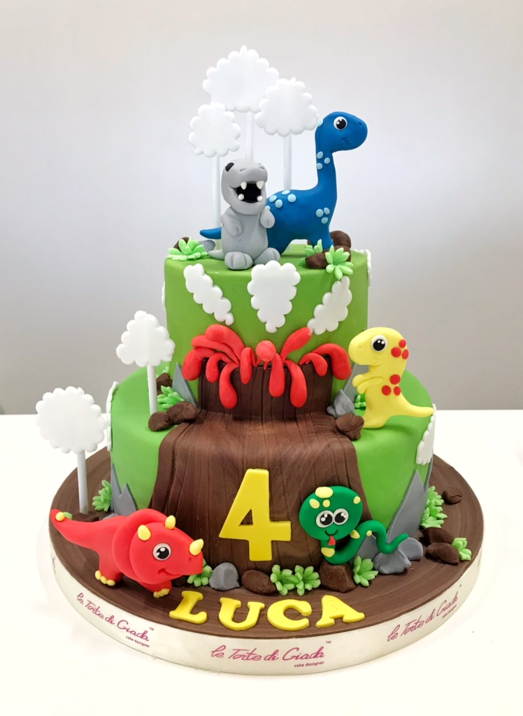 torta dinosauri cake design brescia