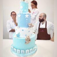 torta gigante battesimo bambino
