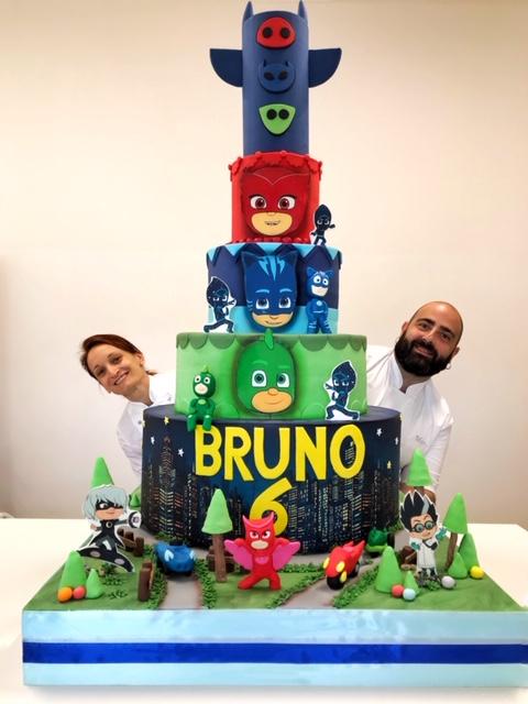 torta monumentale compleanno brescia
