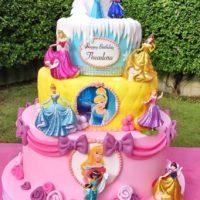 torta principesse compleanno bambina brescia