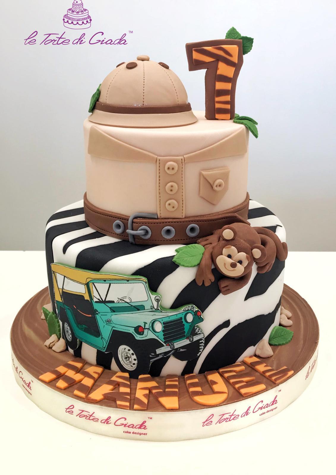 torta safari brescia