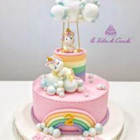 torta unicorno brescia
