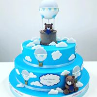 battesimo bambino torta