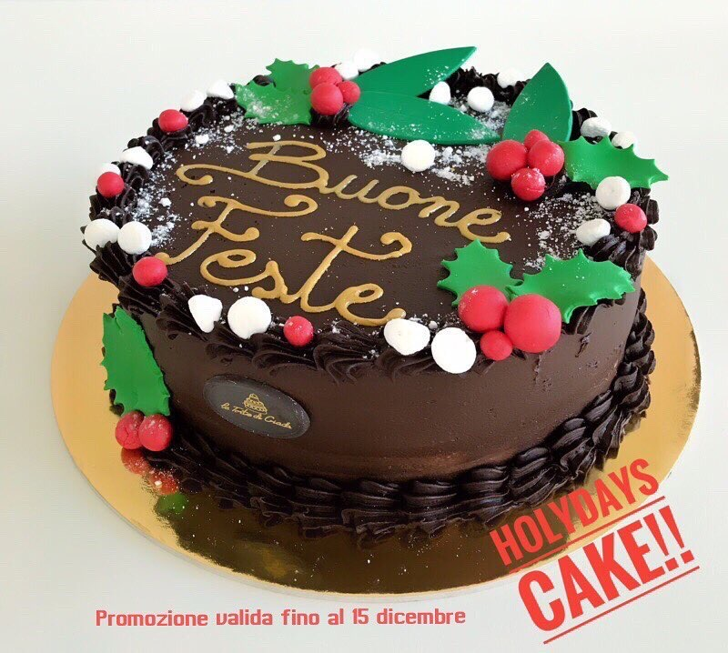 torta natalizia brescia