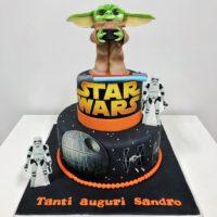 star wars cake brescia