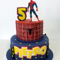 torta spiderman uomo