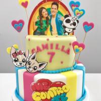 brescia torta compleanno me contro te