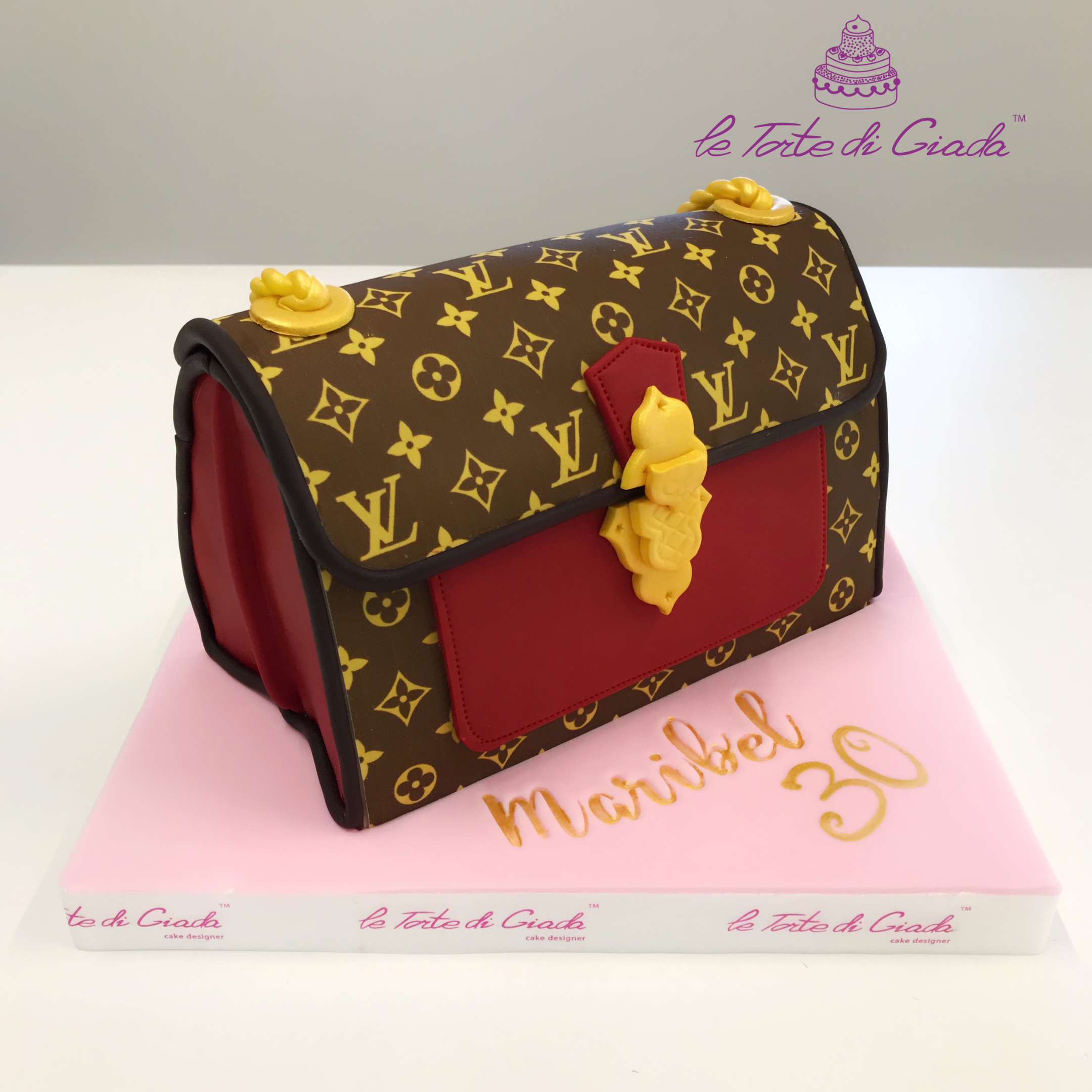 torta louis vuitton brescia