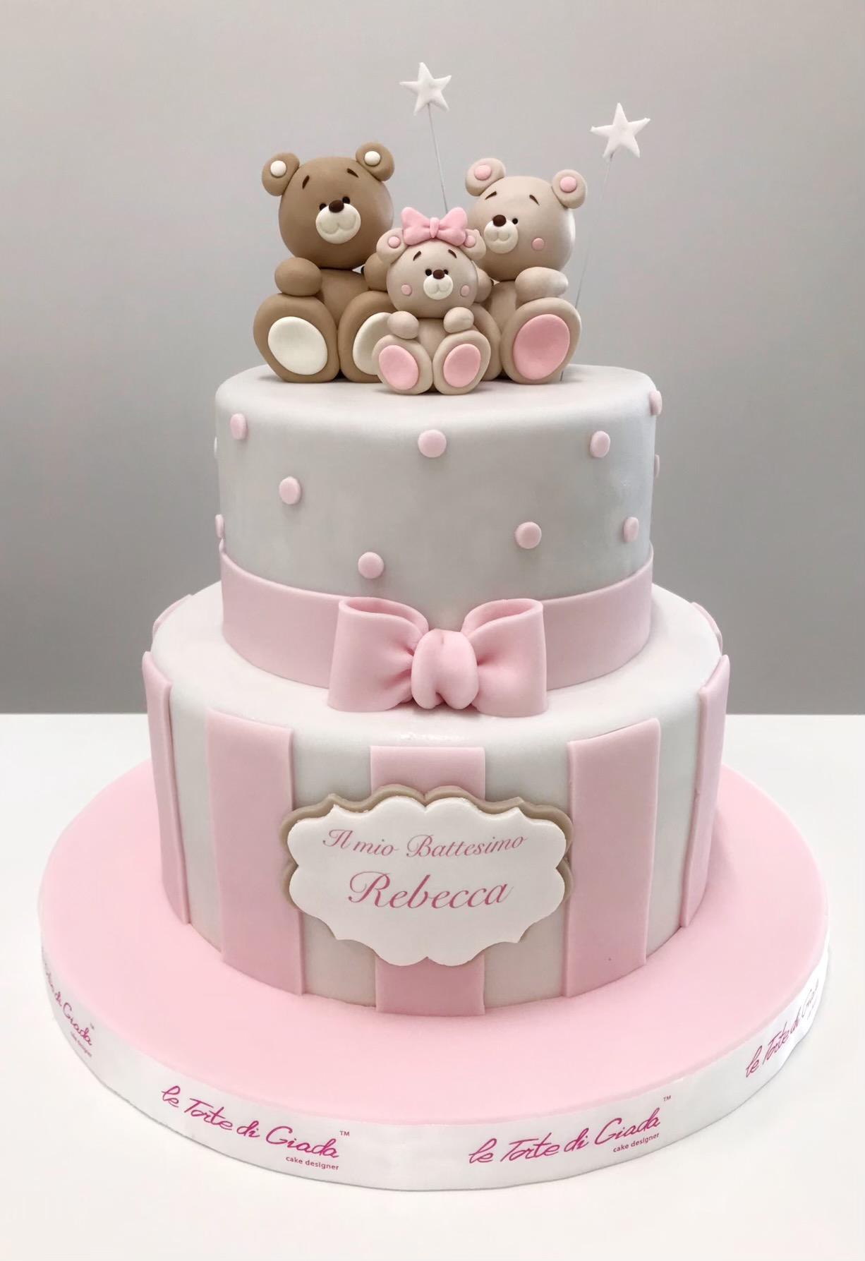 battesimo bambina brescia torta