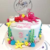 torta compleanno mare