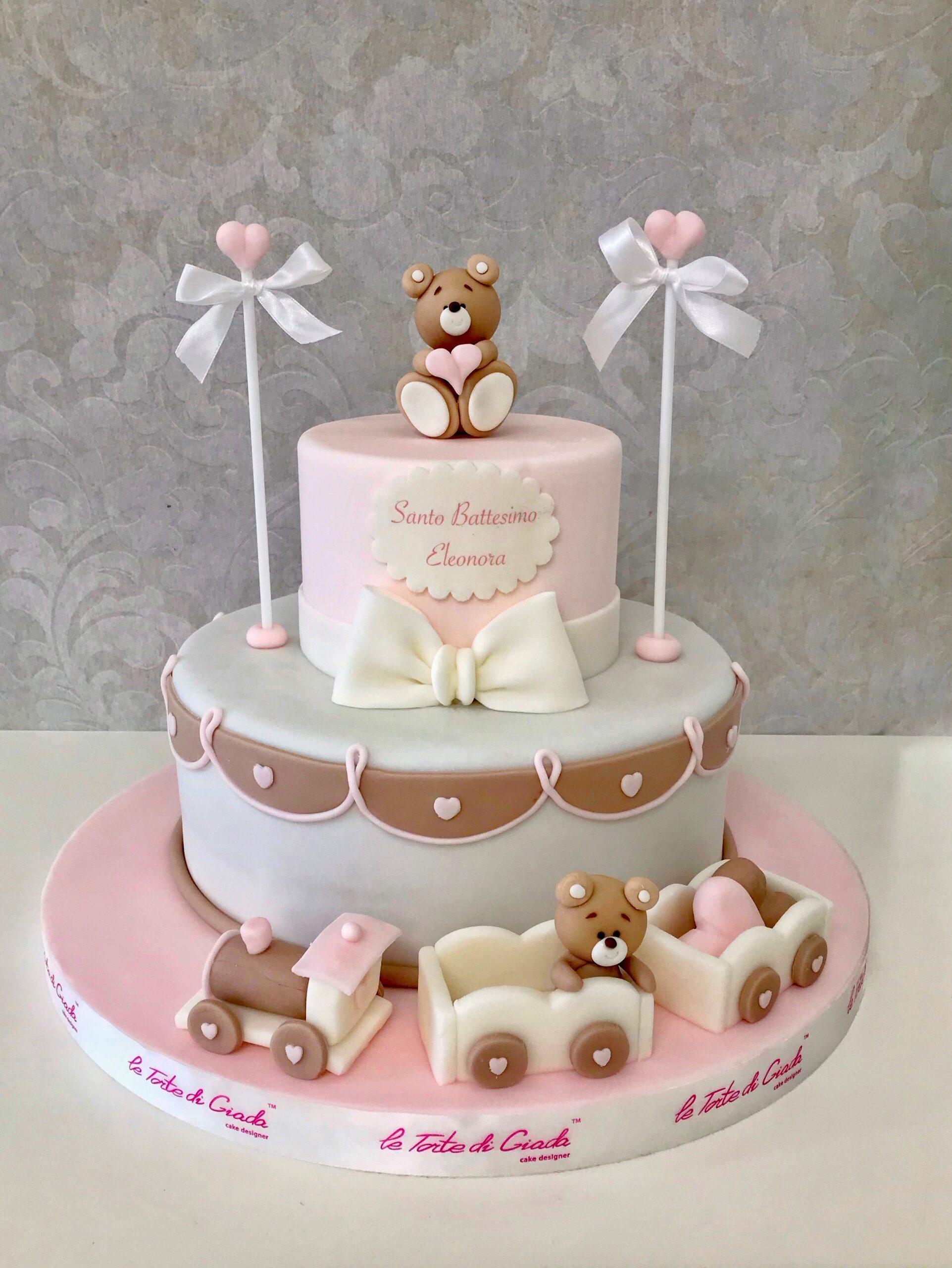 brescia bambina battesimo torta cake design