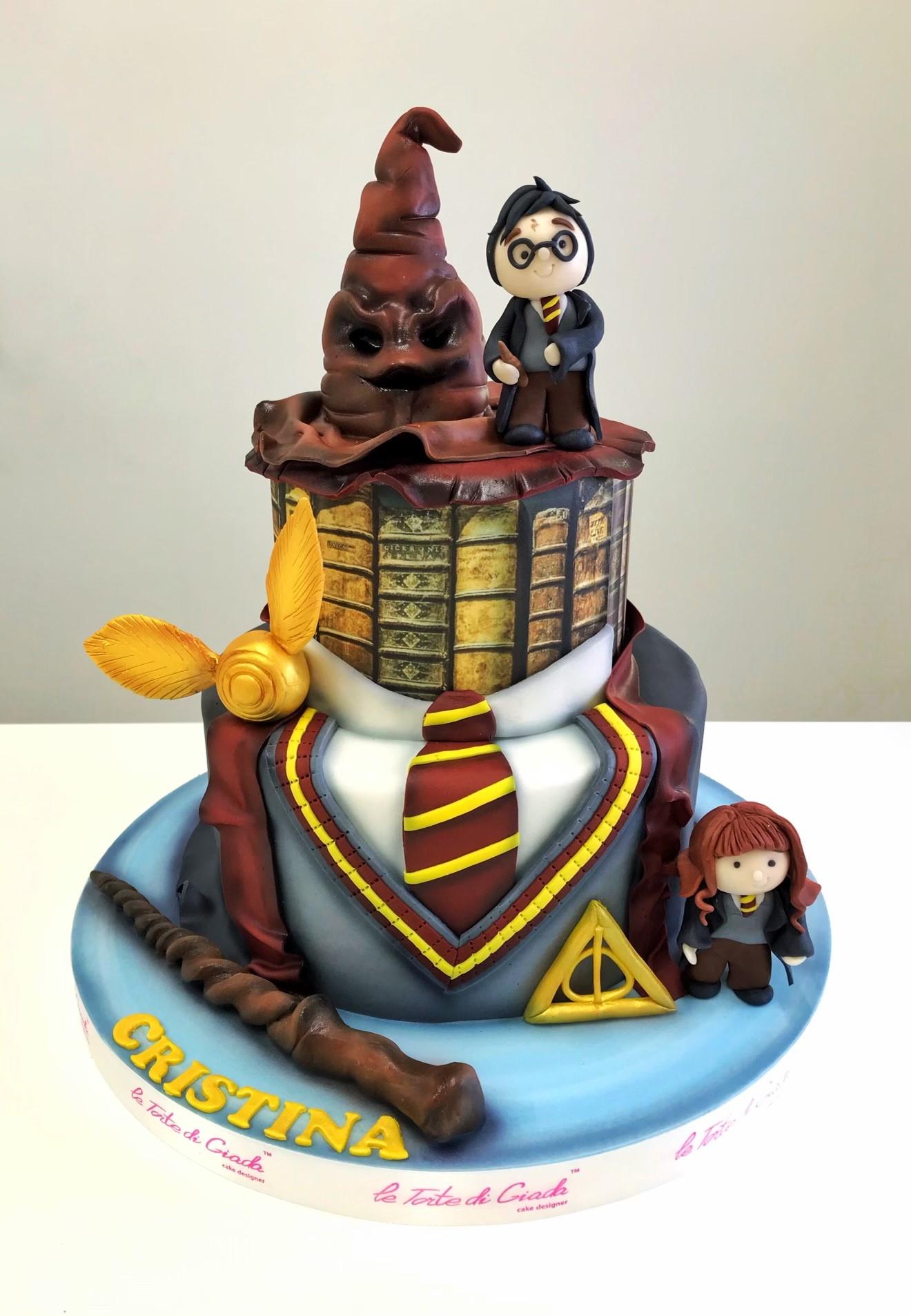brescia torta compleanno giada harry potter