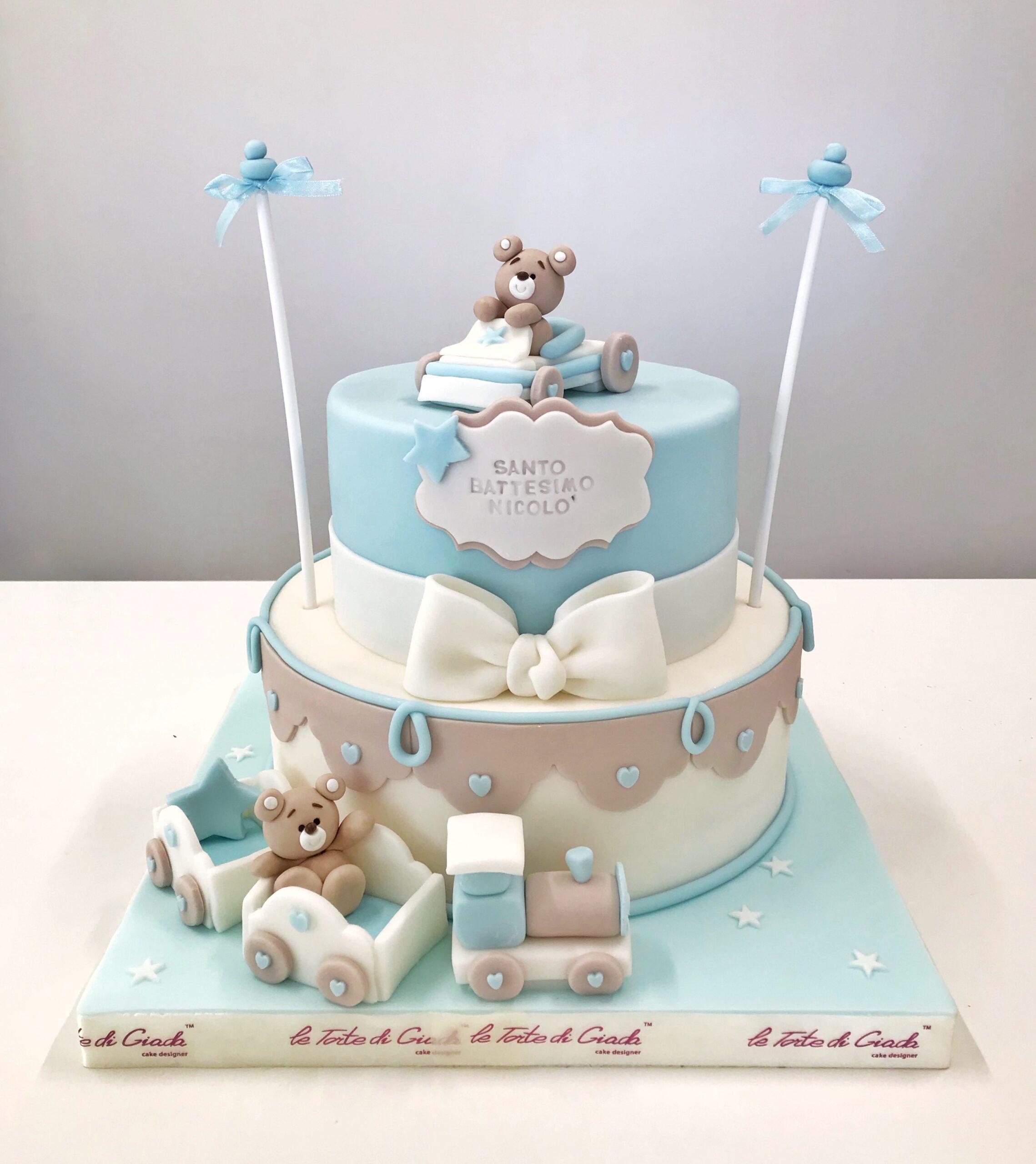 brescia torte di giada battesimo bambino