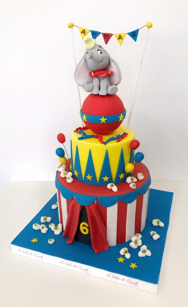 brescia torte di giada compleanno circus bambino