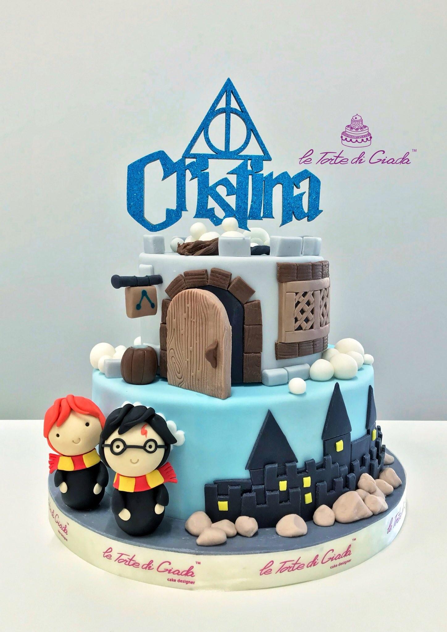 brescia torte di giada compleanno harry potter bambino