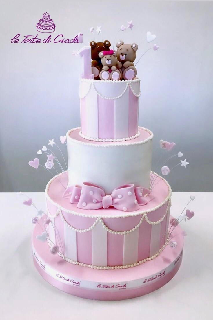 brescia torte di giada compleanno primi compleanni bambina