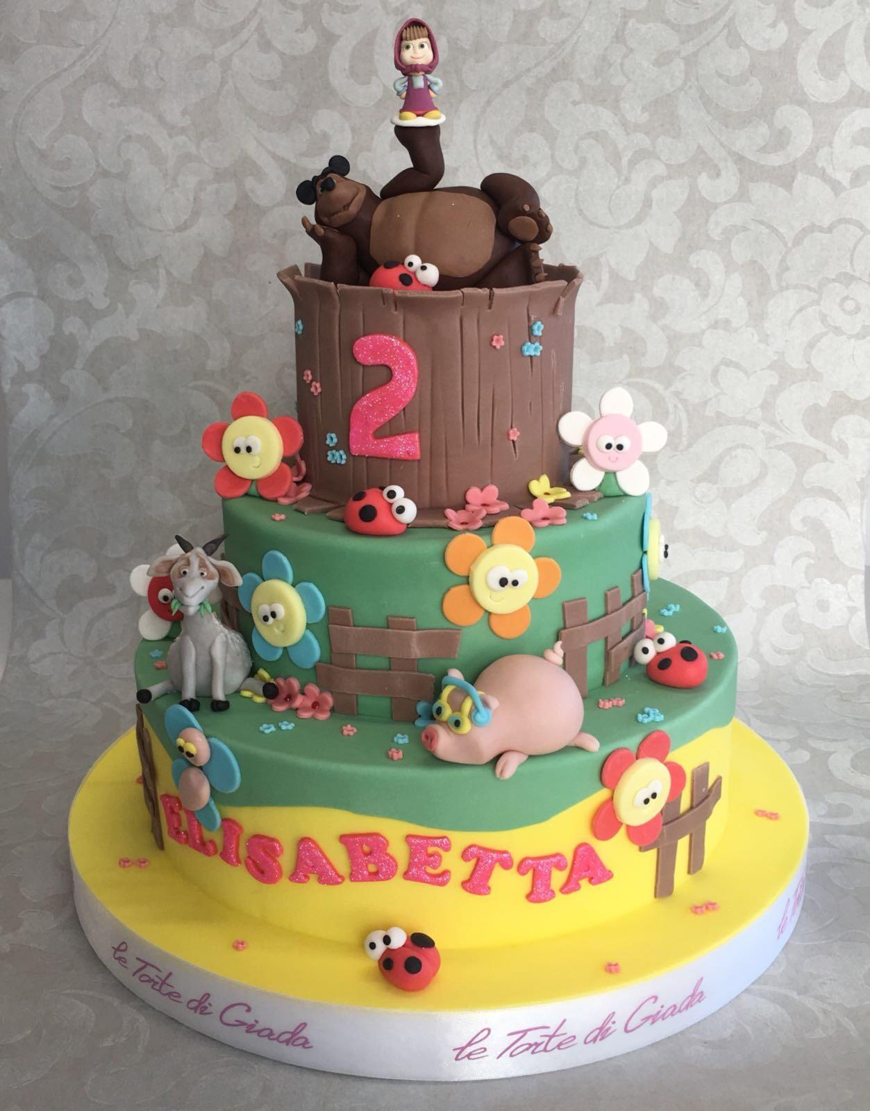 brescia torte di giada masha e orso
