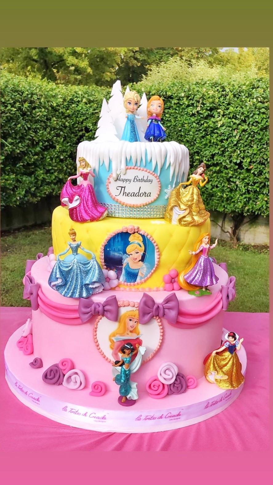 compleanno brescia bambina principesse