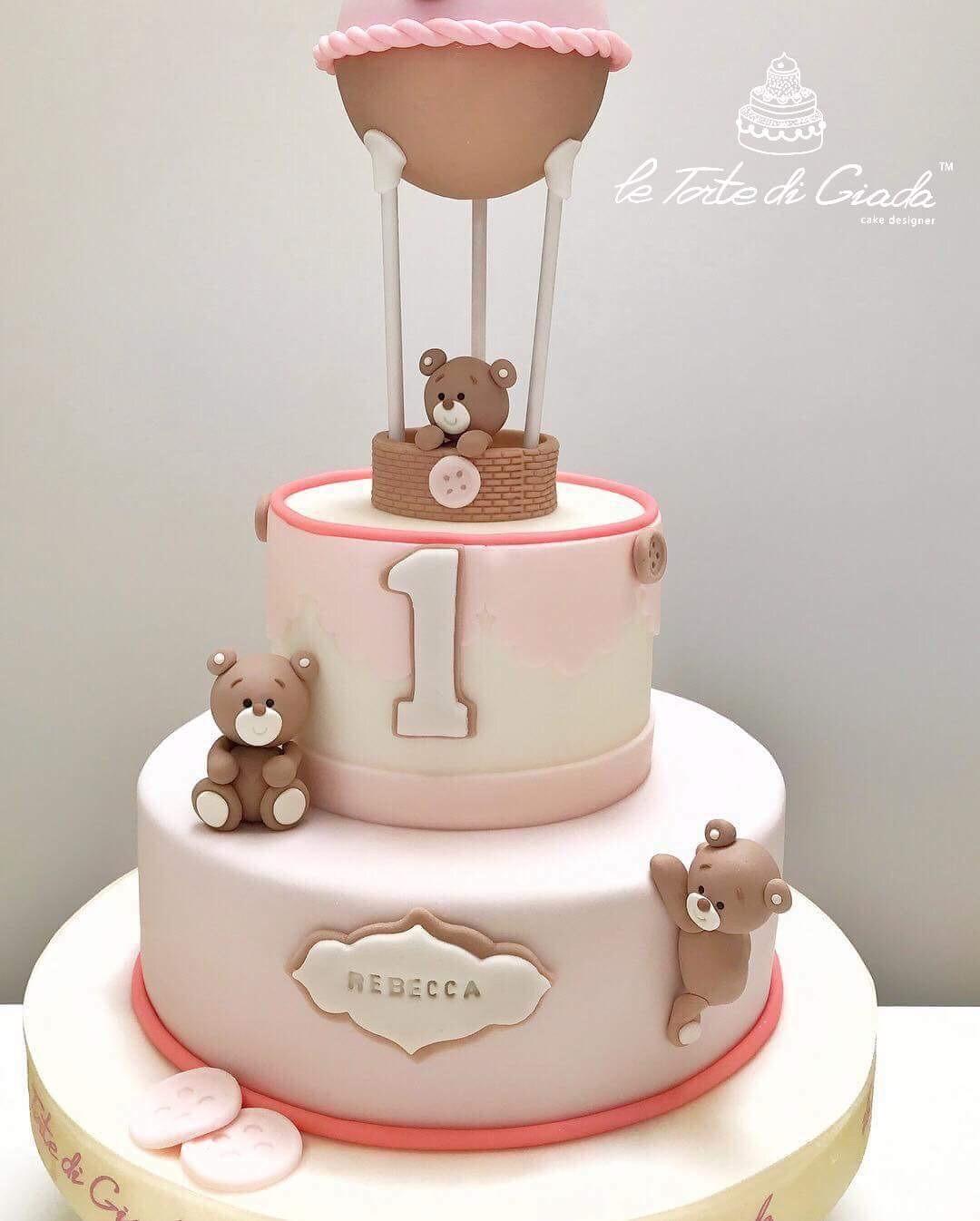 primo compleanno bambina torta