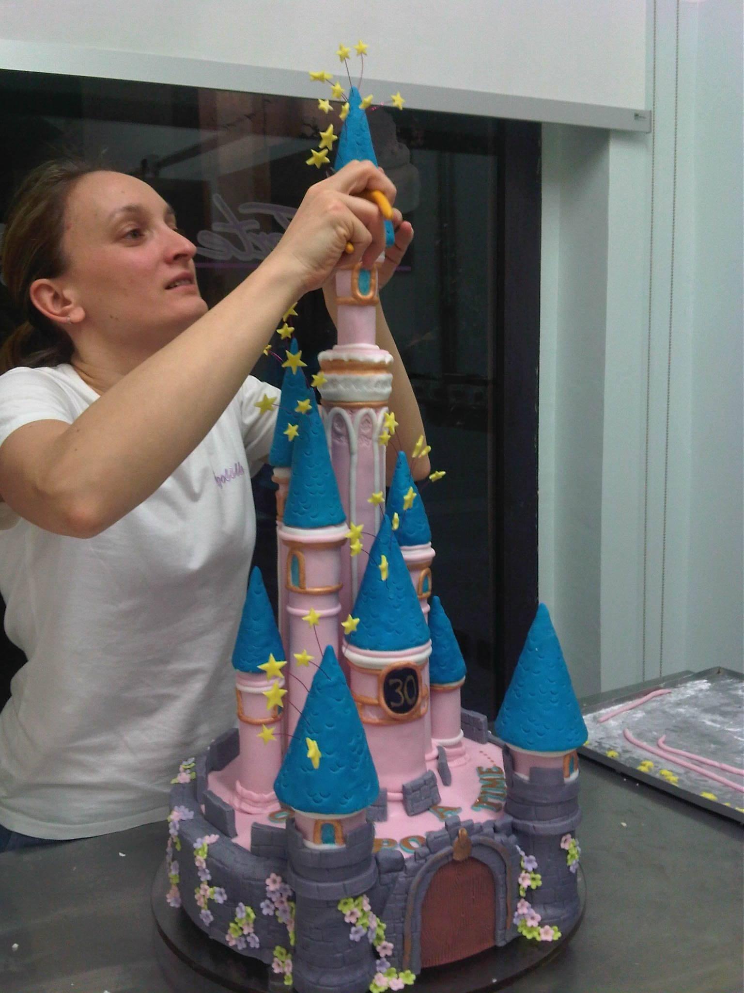 torta principesse brescia